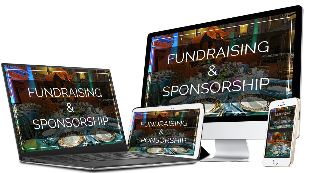 Image of Fundraising & Sponsorship course on multiple devices